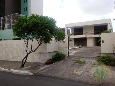 Casa Com 7 Dormitórios Para Alugar, 516 M² Por R$ 3.500/mês - Conjunto Pedro Gondim - João Pessoa/pb - Cod Ca0134 - Ca0134