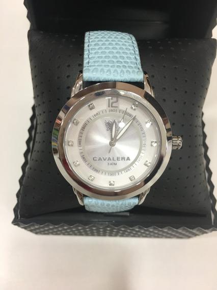 Relógio De Pulso Cavalera Cv28136 Couro Feminino Original