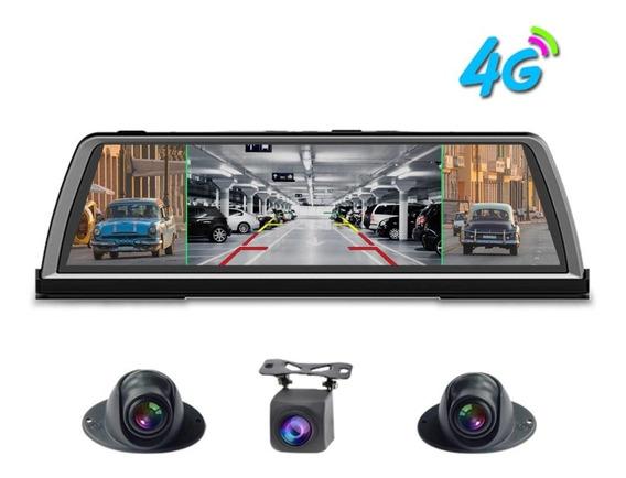 Dashcam Dvr 360-degree Panoramic Dashboard Car 4 Cameras