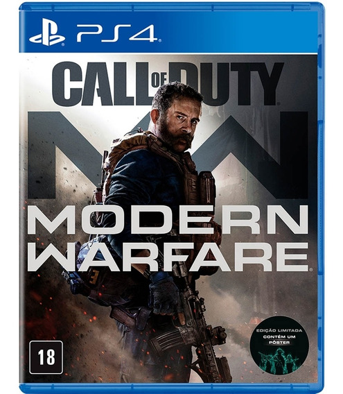 Call Of Duty Morden Warfare 2019 Ps4, Mídia Física Lacrado