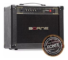 Caixa Amplificador Guitarra Borne Vorax 12100 Preto 100w