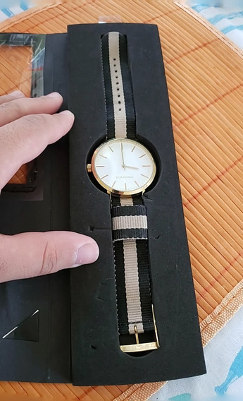Relógio Mariner Analógico - Pulseira Reversível - (usado)