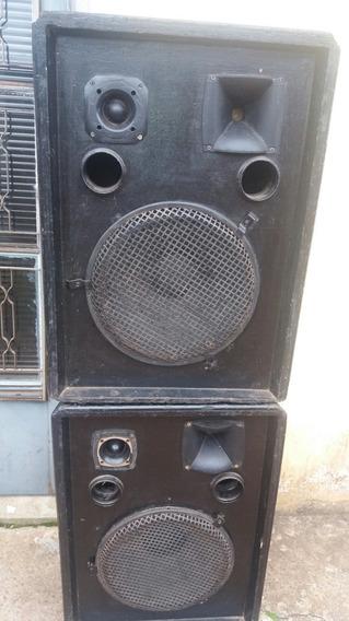 Caixas Passiva Muito Potente Falante Oversound 15 Pol.