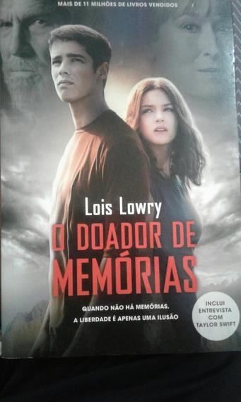 Livro O Doador De Memórias