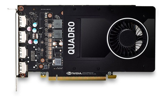 Quadro Nvidia P2000 5gb Ddr5 160bit 1024 Cuda Cores Dp