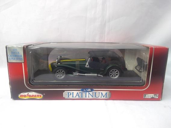 Lotus Caterham Super Seven 7 Miniatura 1/18 Majorette Lacrad