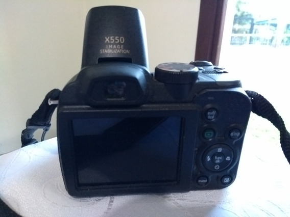 Máquina Digital Fotográfica Semi Profissional Ge X550
