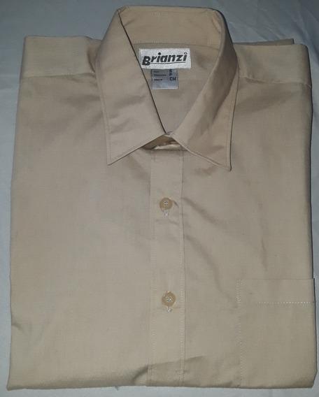 Camisas Escolares Color Beige.