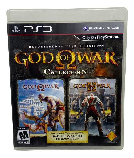 Jogo God Of War Collection - Ps3 Midia Fisica
