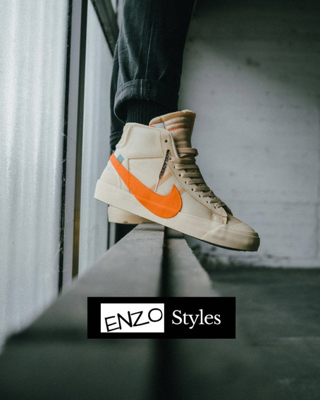 Nike Off White Blazer Mid Hallows Con Caja Og