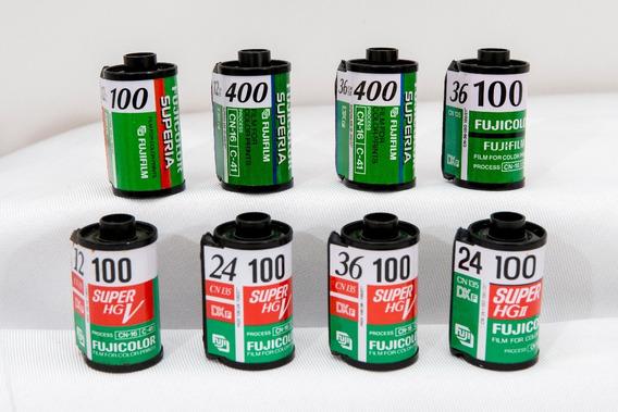 Exclusiva Coleção De Rolos Fotográficos Raros Kodak