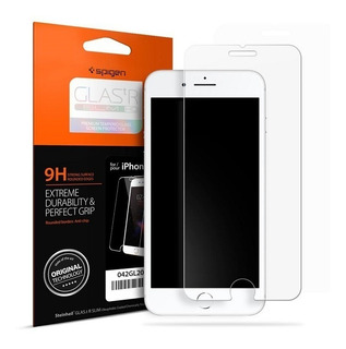 Película De Vidro Frontal Premium Spigen iPhone 8 / iPhone 7