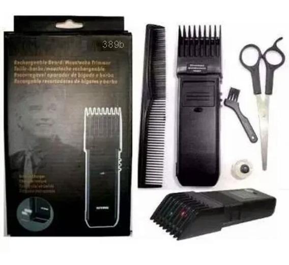 Aparador Máquina Cortar Barba Cabelo Bigode Elétrica Bivolt