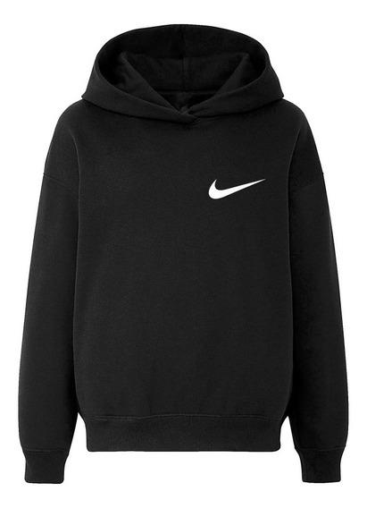 Moletom Nike Logo Mini Simply Basic New Tee Blusa De Frio