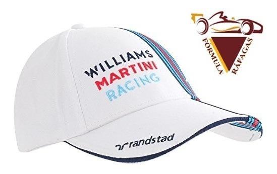 Gorra Williams Racing Oficial Valtteri Bottas Formula 1