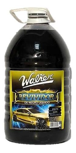 Imagen 1 de 5 de Revividor De Negro Liquido Walker 5 Litros Detail Maranello