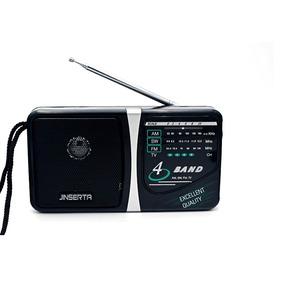 Rádio Receptor Kchibo E2939 Am/fm/sw/tv Cor Preto