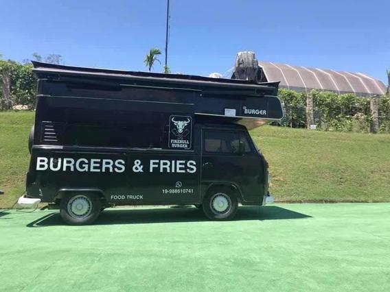 Kombi Food Truck Completa Para Burger