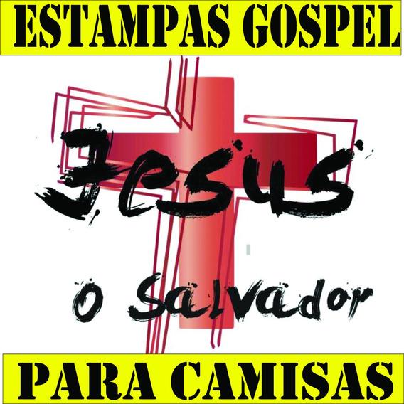 Estampas Gospel Religião Camisas Em Arquivos Corel