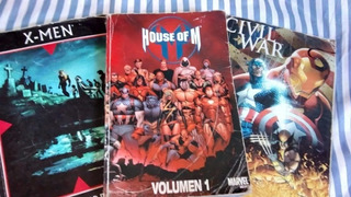 Libro Comic Cilvil War De Coleccion