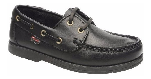 Colegiales Marcel Zapatos Náuticos Cuero Niño Niña