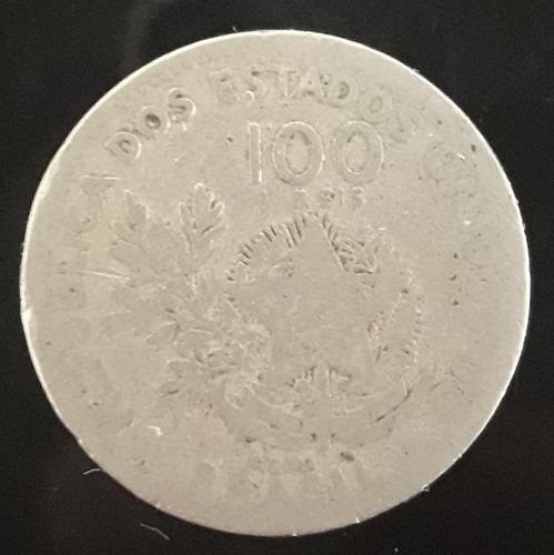 Imagem 1 de 2 de Moeda 100 Réis Ano 1901 Mcmi