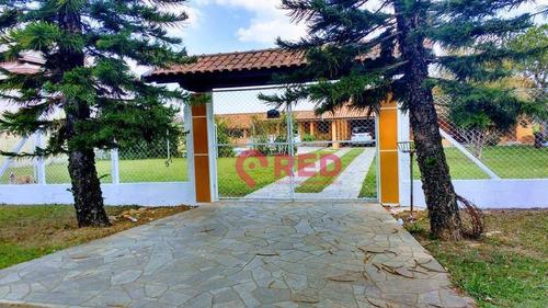 Chácara Com 6 Dormitórios À Venda, 1125 M² Por R$ 620.000,00 - Recanto Da Colina - Cerquilho/sp - Ch0023