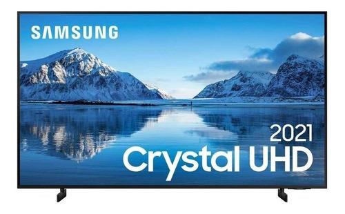 """Imagem 1 de 4 de Smart TV Samsung UN55AU8000GXZD LED 4K 55"""" 100V/240V"""
