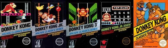 Juegos Donkey Kong 1,2,3,4 & 5 Nes Pc/android Windows 7/10