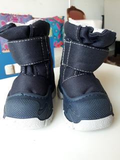 Botas Impermeables Con Corderito Bebes Talle 19