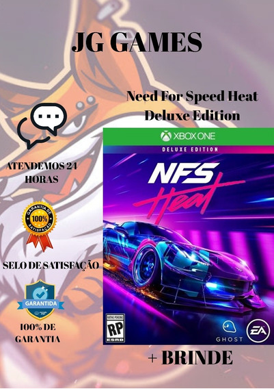 Need For Speed Heat Deluxe + Brinde - Xbox One Mídia Digital