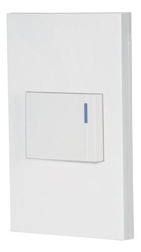 Imagen 1 de 4 de Placa 1 Interruptor Sencillo Linea Española Volteck 45592