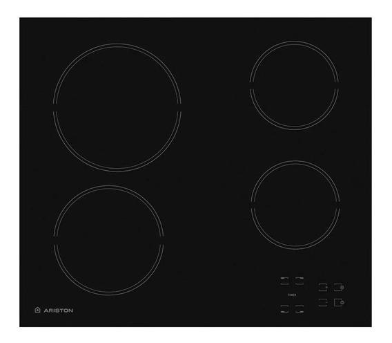 Anafe eléctrico Ariston HR 611 C A negro 220V