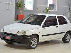 Renault Clio Rl 1.4 Nafta 1998 Color Blanco