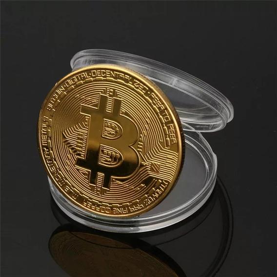 Bitcoin Física Moeda De Coleção