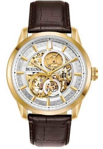 Relógio Bulova Masculino Automático 97a138