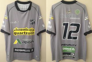 Camisa Ceará Penalty Goleiro 2014 Tam Gg #12 Usada Em Jogo