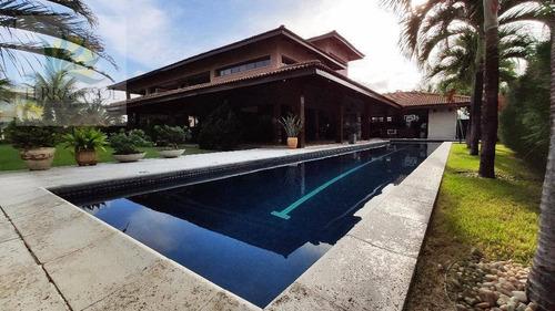 Imagem 1 de 30 de Casa Com 4 Dormitórios À Venda, 692 M² Por R$ 6.500.000,00 - Condomínio Alphaville Fortaleza Residencial - Eusébio/ce - Ca1033