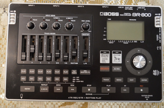 Gravador Boss Br-800 + Fonte Original ((((. Top ))))