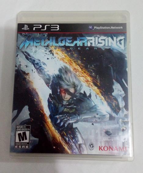 Metal Gear Rising Ps3 Mídia Física