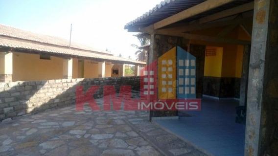Vende-se Excelente Casa Na Praia De Tibau - Ca0324