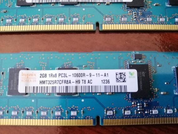 Memoria Hynix 2gb 1rx8 Pc3l - 10600r-9-11-a1