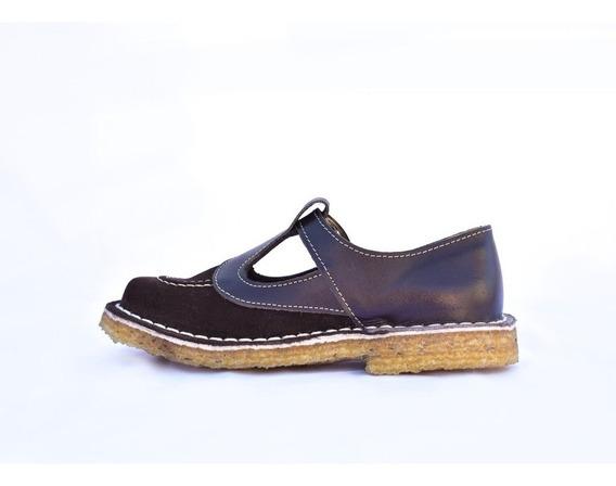 Guillerminas Zapatos Colegial - Cuero Vacuno - 27 Al 33 - Costura Fraymocho - Calzado Ciro