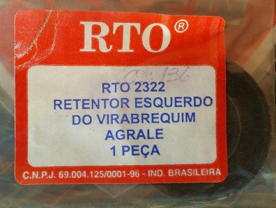 Retentor Esquerdo Do Virabrequim Agrale 16.5, 27.5, 30.0