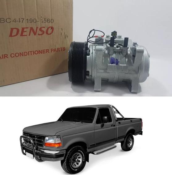 Compressor Ford F1000 1998 Motor Mwm 10p15 8pk 12v