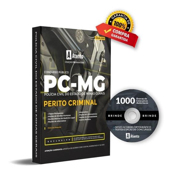 Apostila Pc - Mg - Perito Criminal-edição 2020 (atualizada)