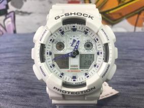 Relógio Casio G-shock Ga100a7a Original Dos Estados Unidos
