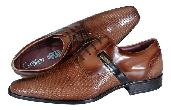 Sapato Sofisticado Masculino Couro Vector 12103 Frete Grátis