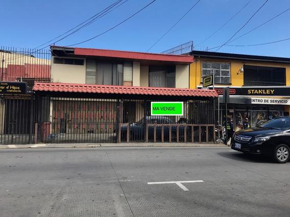 Se Vende Lote Con Casa En El Centro De San José