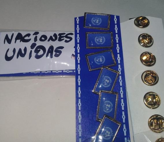 Pins Bandera Naciones Unidas De 2 Cms